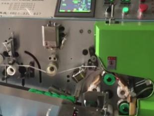 Automatic PTFE tape rolling machine