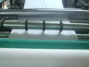 MJ non woven slitting and perforating machine